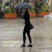 Heavy Rainfall For Deep Sleep by Relaxing Piano Music