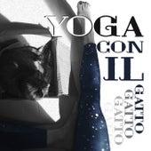 Yoga con il gatto (Musica rilassante per gatti e persone con suoni di gatto che fa le fusa (Frequenze di guarigione)) di Relax musica zen club