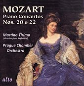 Mozart: Piano Concertos Nos. 20 & 22 von Martino Tirimo