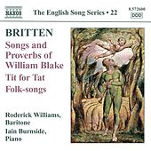Britten: Songs and Proverbs of William Blake - Tit for Tat von Roderick Williams