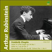 Chopin: Valses, Scherzi & Barcarolle de Arthur Rubinstein