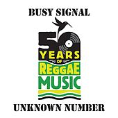Unknown Number de Busy Signal