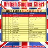 British Singles Chart - Week Ending 6 August 1954 de Various Artists