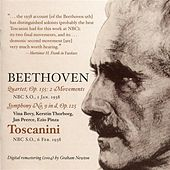 Beethoven: Quartet, Op. 135 - Symphony No. 9 by Various Artists