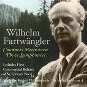 Furtwangler: 3 Symphonies by Beethoven by Various Artists