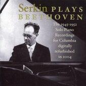 Rudolf Serkin plays Beethoven von Rudolf Serkin