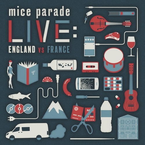 Live: England vs. France by Mice Parade