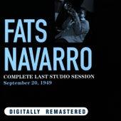Complete Last Studio Session. September 20, 1949 de Fats Navarro