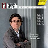 Haydn: Complete Symphonies, Vol. 17 by The Heidelberg Symphony Orchestra