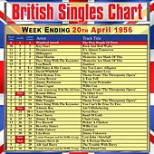 British Singles Chart - Week Ending 20 April 1956 de Various Artists