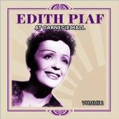 Edith Piaf At Carnegie Hall Volume 2 de Edith Piaf