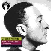Jascha Heifetz plays Bach, Vieuxtemps & Gruenberg de Various Artists
