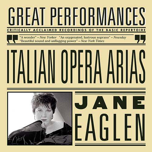 Italian Opera Arias by Jane Eaglen