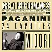 Paganini: 24 Caprices for Solo Violin, Op. 1 by Nicolo Paganini