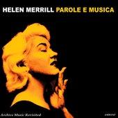 Parloe e Musica by Helen Merrill