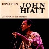 Paper Thin (Live) by John Hiatt