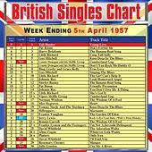 British Singles Chart - Week Ending 5 April 1957 de Various Artists