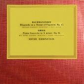 Sergei Rachmaninov Paganini Rhapsody / Edvard Grieg Piano Concerto de Artur Rubinstein