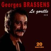 Le gorille ... - 20 succès de Georges Brassens