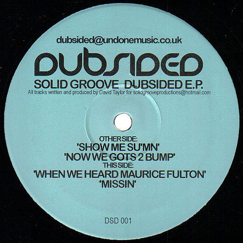 Dubsided EP by Solid Groove