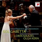 Shostakovich Cello Concerto No. 1 / Rachmaninov Sonata for Cello and Piano op. 19 by Sol Gabetta