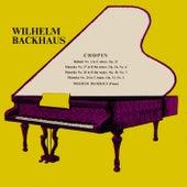 Frederic Chopin Piano Pieces de Wilhelm Backhaus