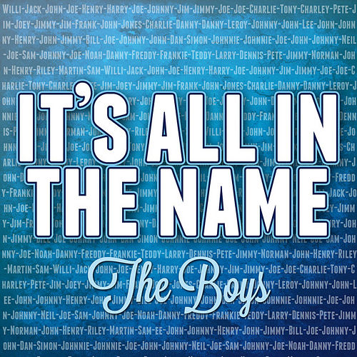 It's All in the Name - the Boys de Various Artists