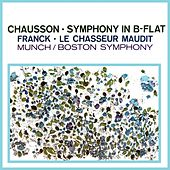 Chausson Symphony & Franck Le Chasseur Maudit von Boston Symphony Orchestra