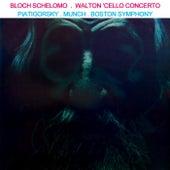 Bloch Schelomo & Walton Cello Concerto von Boston Symphony Orchestra