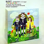 Bizet Symphony In C Major de L'Orchestre de la Suisse Romande