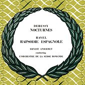 Debussy Nocturnes & Ravel Rapsodie Espagnole de L'Orchestre de la Suisse Romande