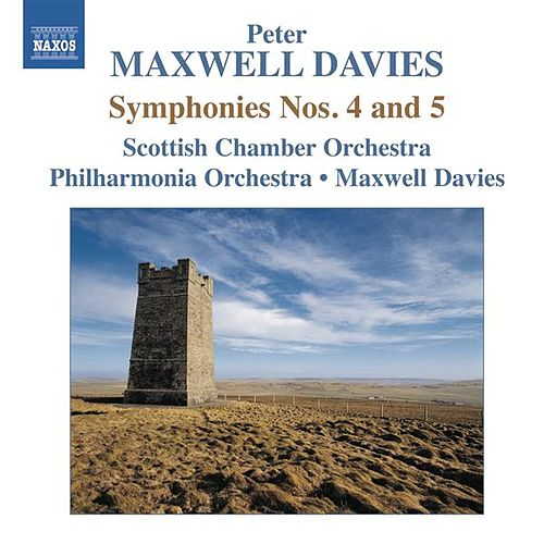 Maxwell Davies: Symphonies Nos. 4 & 5 by Various Artists