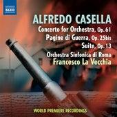 Casella: Concerto for Orchestra - Pagine di guerra - Suite by Rome Symphony Orchestra