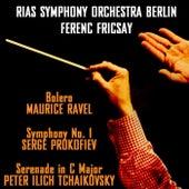 Bolero / Prokofiev Symphony No 1 by RIAS Symphony Orchestra Berlin