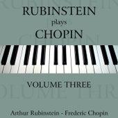 Rubinstein Plays Chopin Volume 3 de Arthur Rubinstein