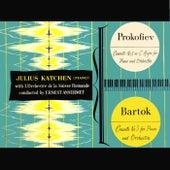 Sergei Prokofiev And Bela Bartok Piano Concertos de L'Orchestre de la Suisse Romande