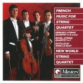 French Music For String Quartet di New World String Quartet