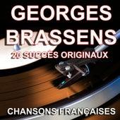 Chansons françaises (20 succès originaux) de Georges Brassens