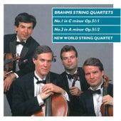 Brahms: String Quartets Nos.1 & 2, Op.51 di New World String Quartet