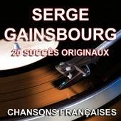 Chansons françaises (20 succès originaux) de Serge Gainsbourg