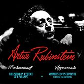 Rachmaninoff Rhapsody On A Theme Of Paganini de Artur Rubinstein