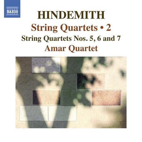 Hindemith: String Quartets, Vol. 2 by Amar Quartet