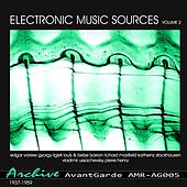 Electronic Music Sources Vol.2 (1937-1959) by Various Artists