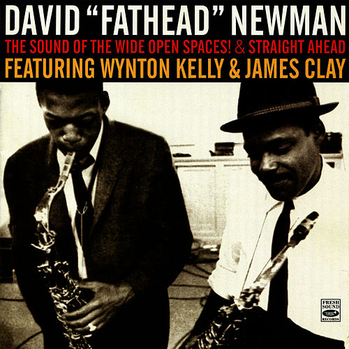 The Sound of the Wide Open Spaces! & Straight Ahead by David 'Fathead' Newman