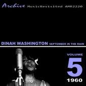 September in the Rain von Dinah Washington