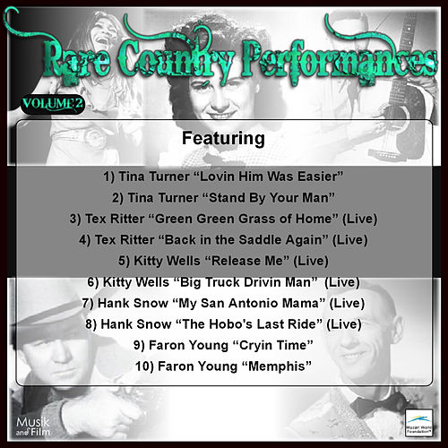 Rare Country Performances, Vol. 2 by Various Artists