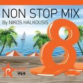 Nikos Halkousis Non Stop Mix, Vol. 8 (Dj Mix) de Various Artists