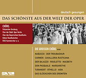 Das Schönste aus der Welt der Oper - Die großen Opernchöre de Various Artists