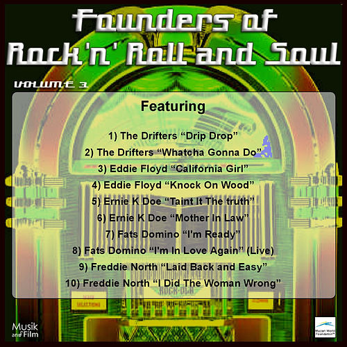 Founders of Rock 'n' Roll and Soul, Vol. 3 by Various Artists