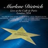 Marlene Dietrich Live At The Café De Paris London 1954 by Marlene Dietrich